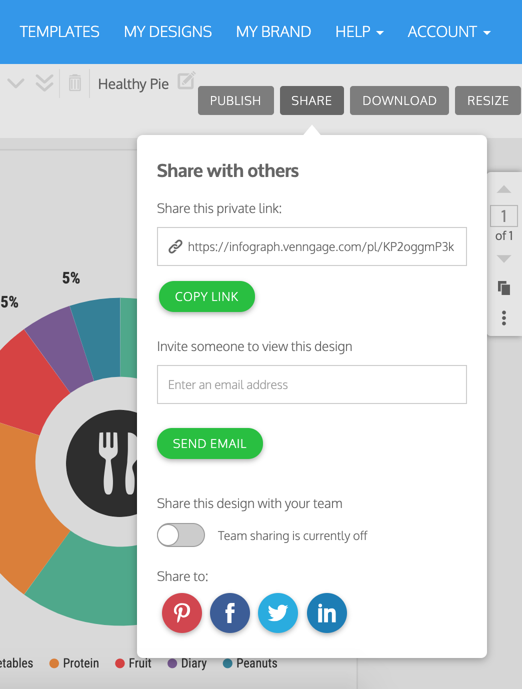 Online Pie Chart Maker - Create Your Beautiful Pie Chart- Venngage