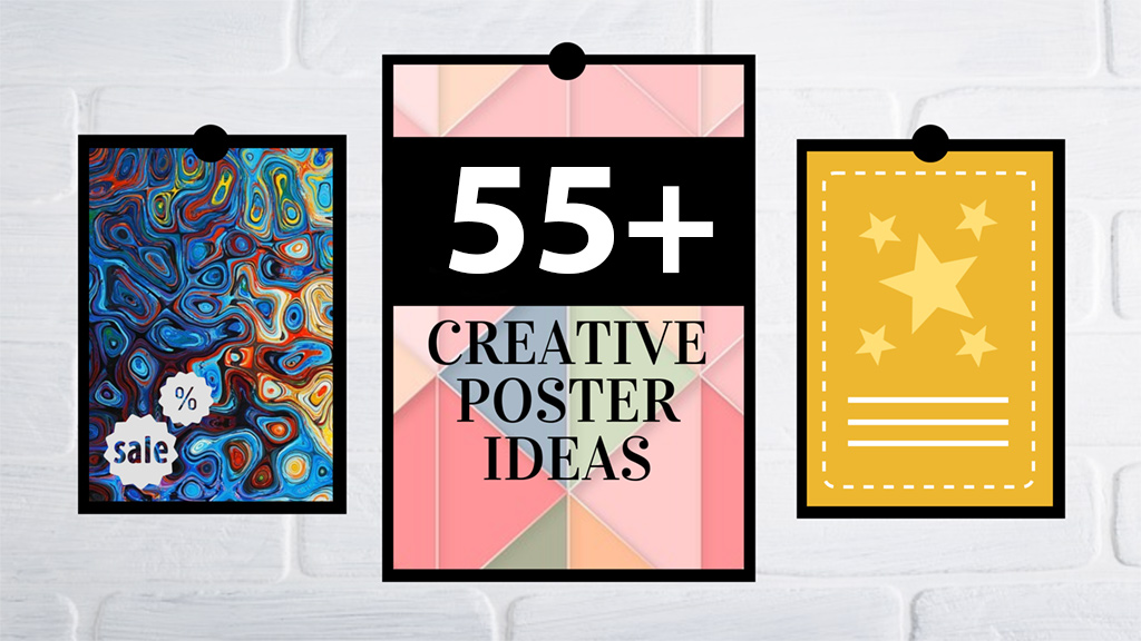 55 best creative poster ideas templates tips