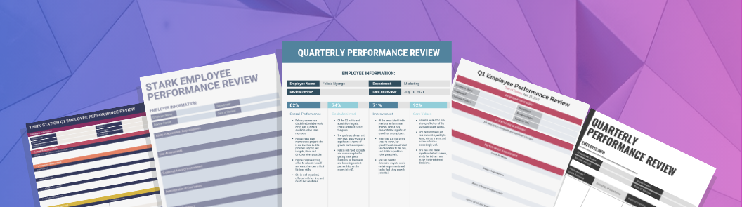 performance review header