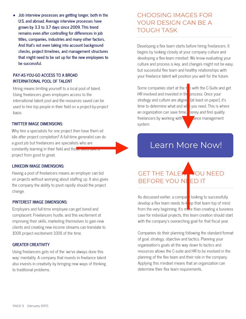 Blue Business Marketing White Paper Examples