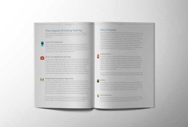 Healthy Eating White Paper Examples