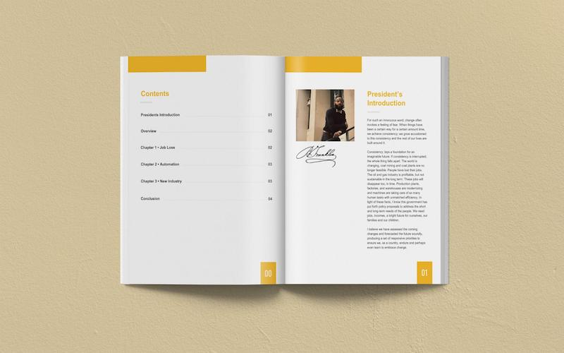 Minimalist Business White Paper Examples
