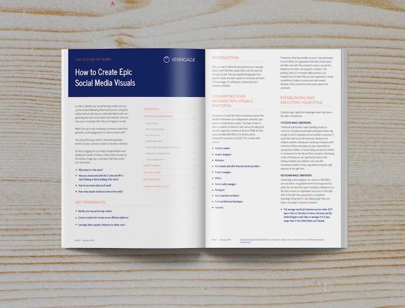 Modern Business White Paper Examples