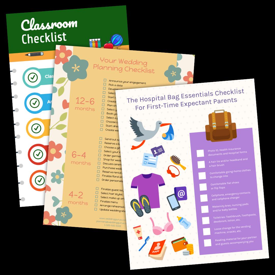 Free Online Checklist Maker - Venngage