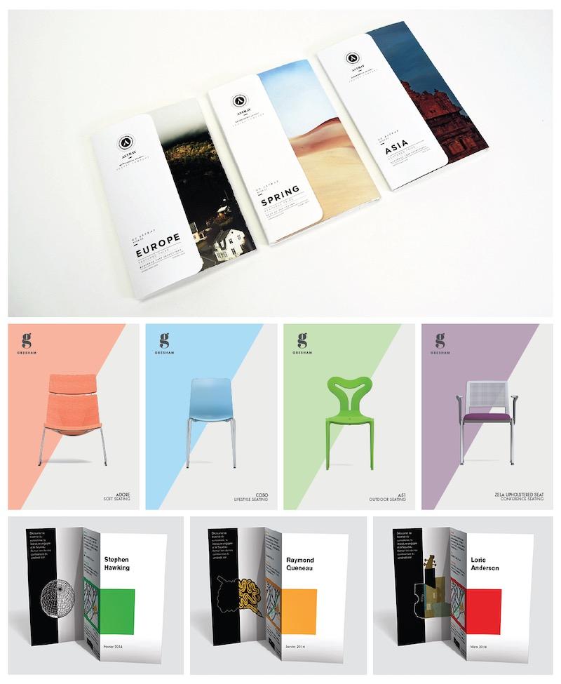 Consistent Brochure Design
