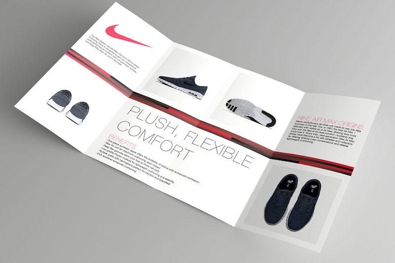 Nike Brochure Design