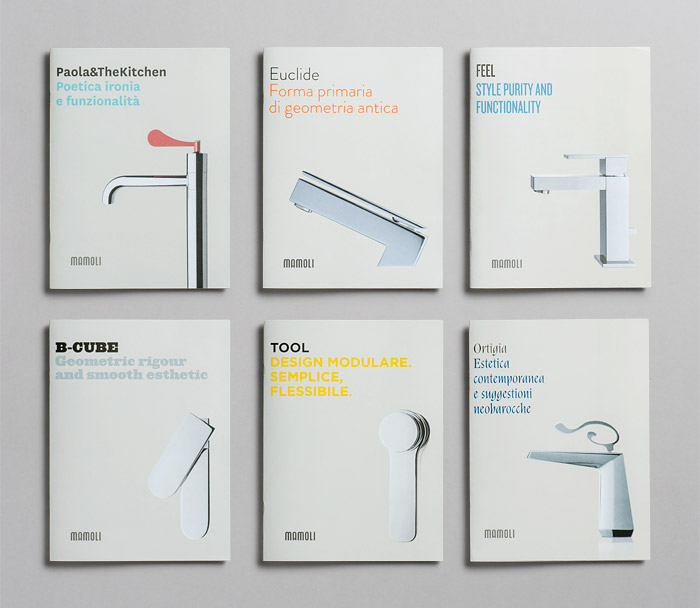 Taps Minimalist Brochure Cover Design Examples