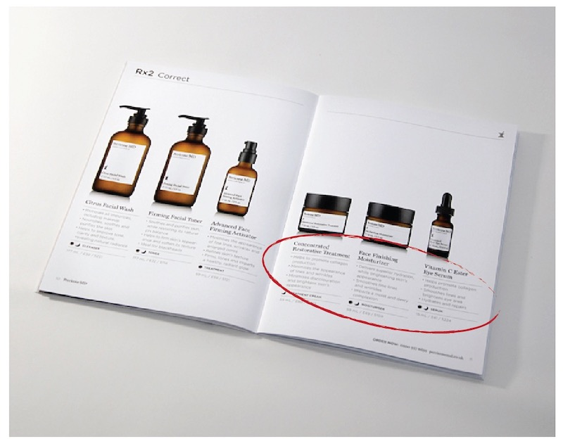 White Brochure Design
