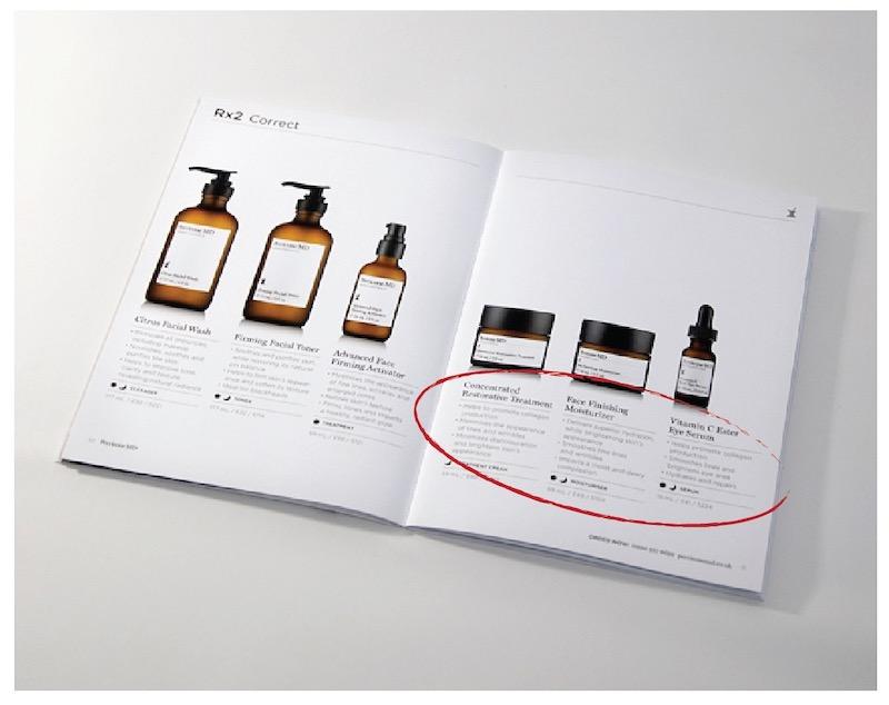 Minimalist White Brochure Layout
