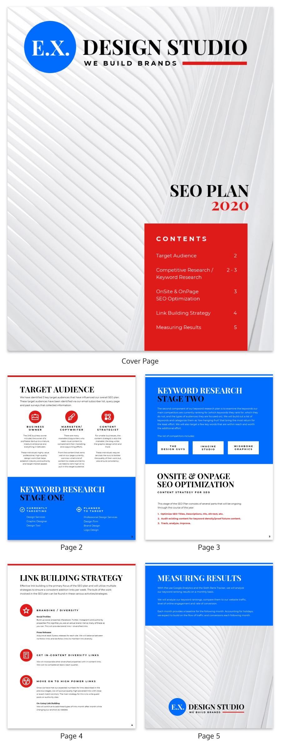 SEO Marketing Proposal Template