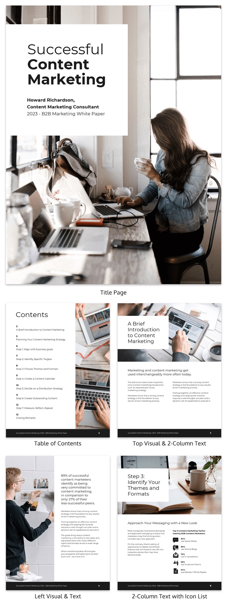 Modern Content Marketing White Paper Examples