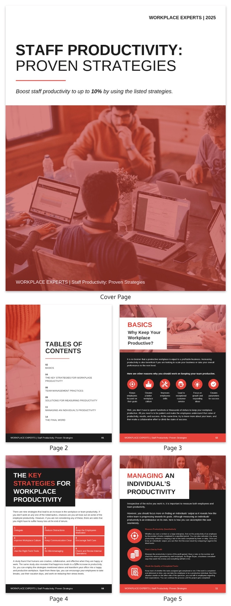Red Productivity White Paper Examples