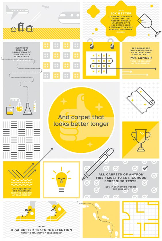 Simple Carpet Business Infographic Example