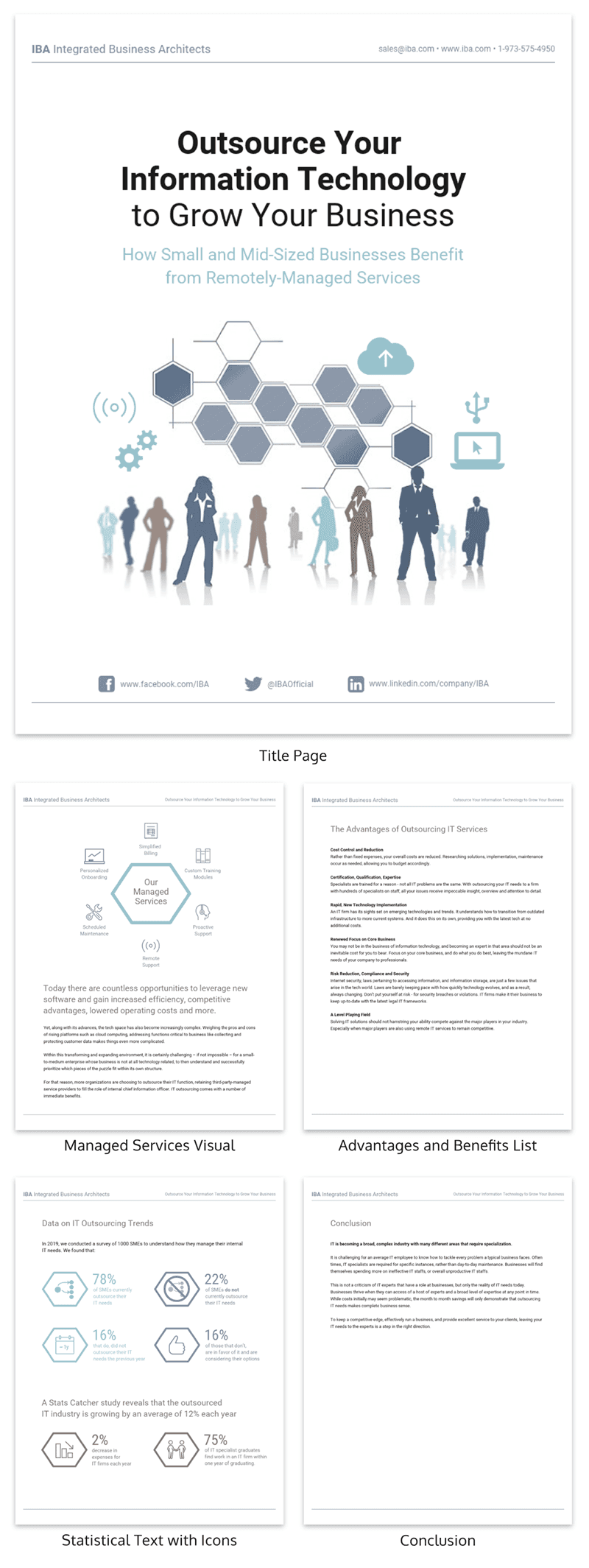 Simple White Tech White Paper Examples