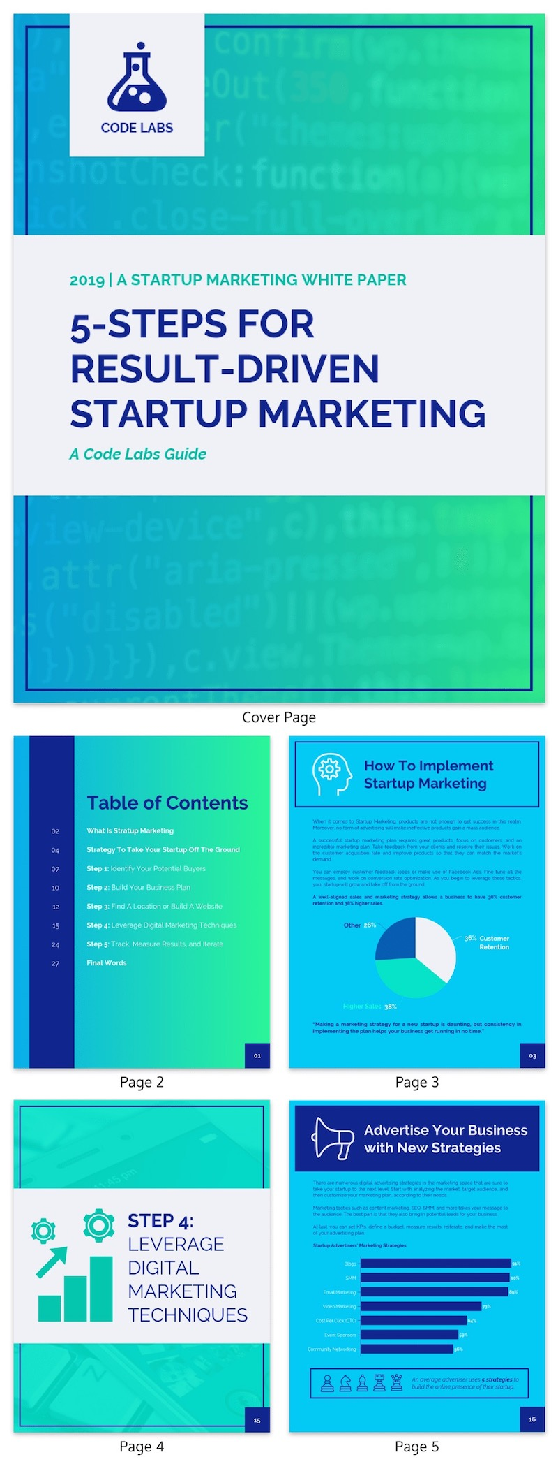 Tech Startup Marketing White Paper Examples