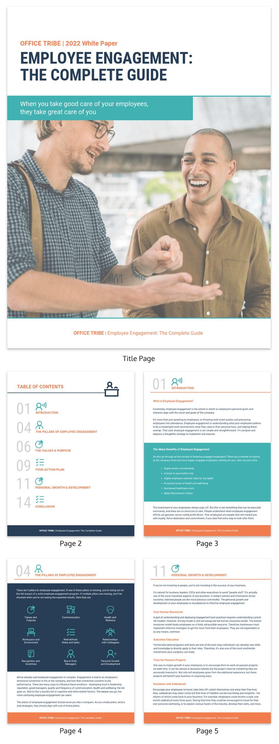 White Business White Paper Examples