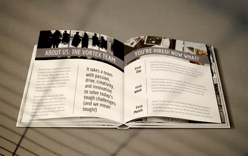 Employee Handbook example booklet