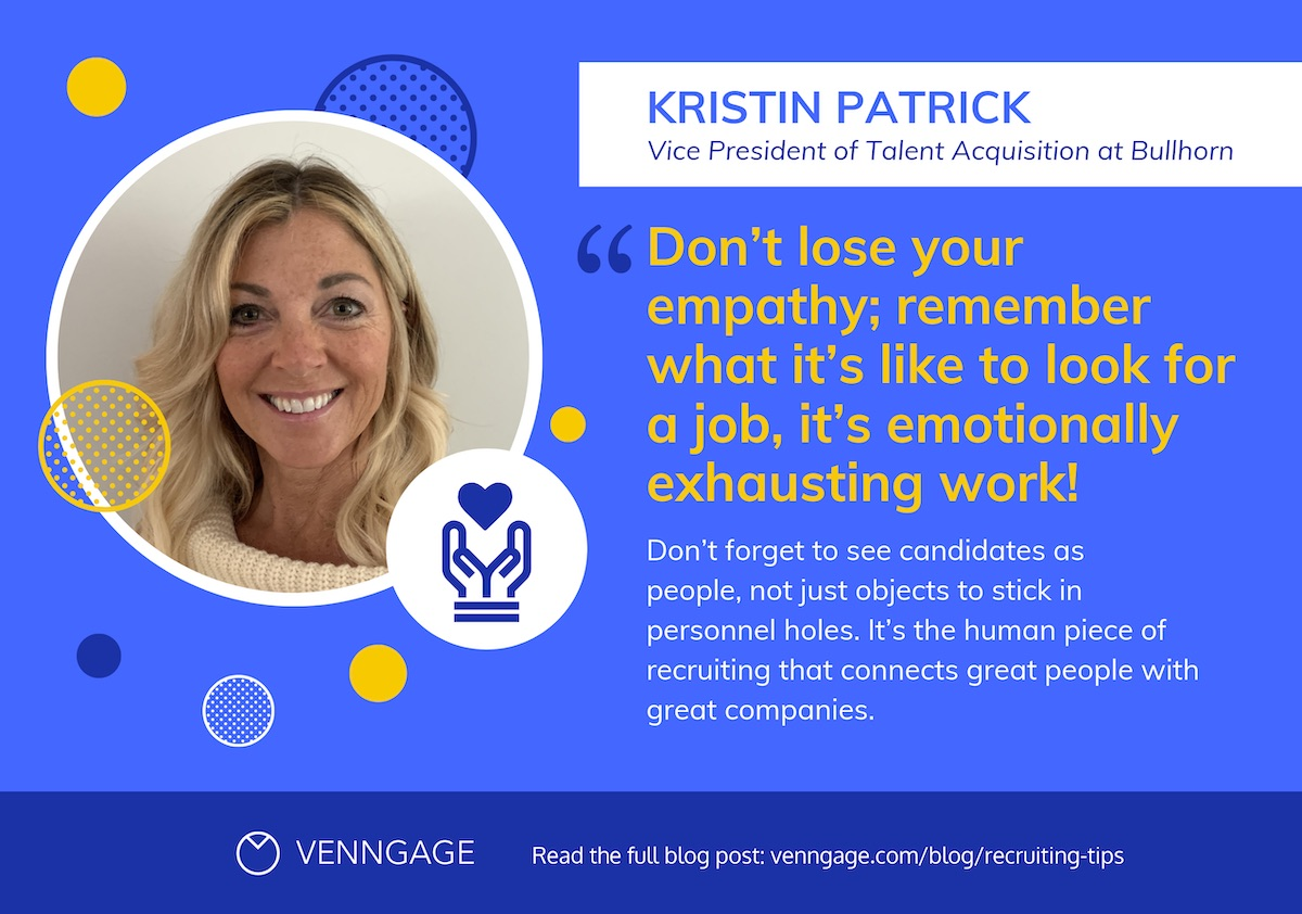 %22Kristin Patrick_Bullhorn%22 Quote + Recruiting Tips