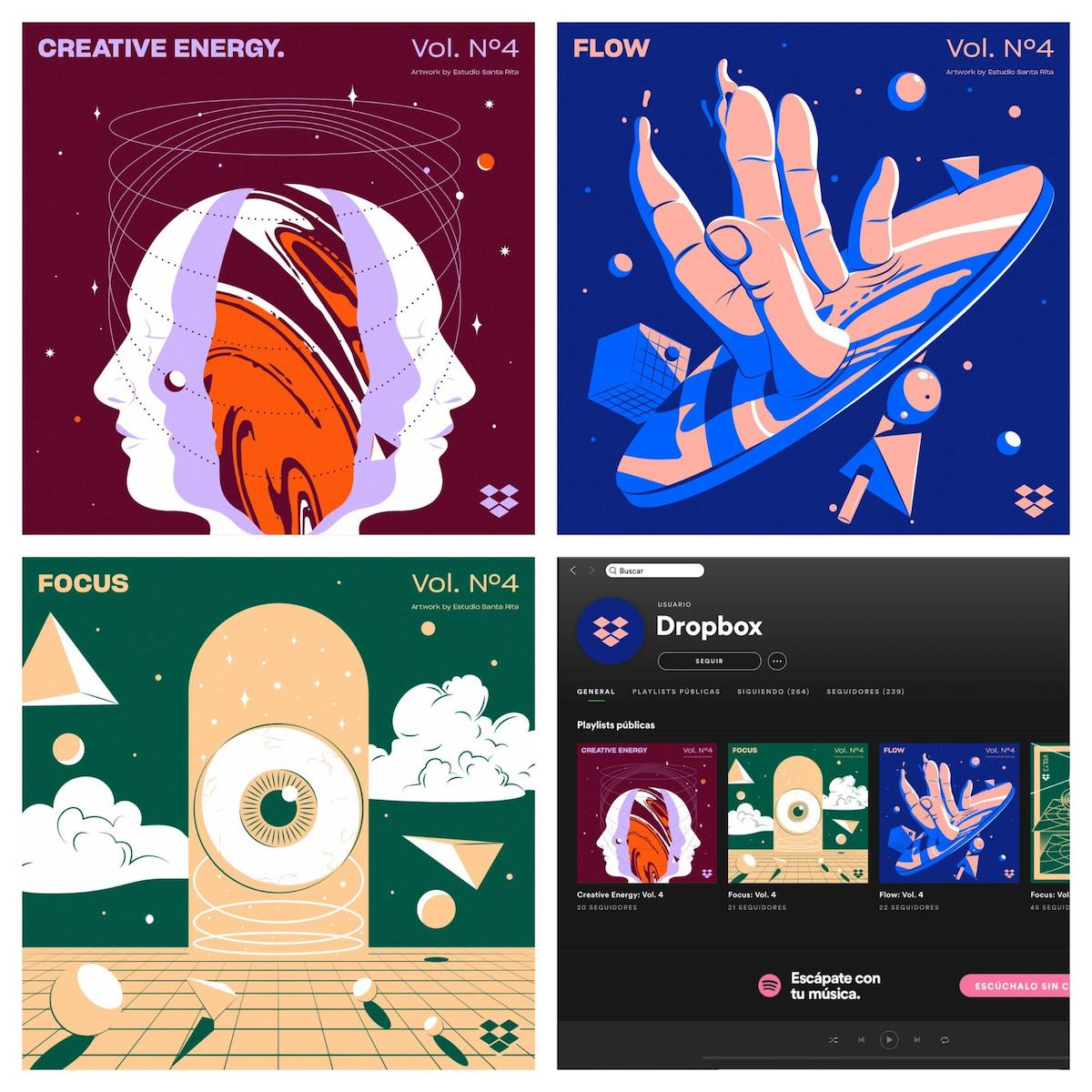 Graphic Design Trends 2020 - Abstract Illustrations 8