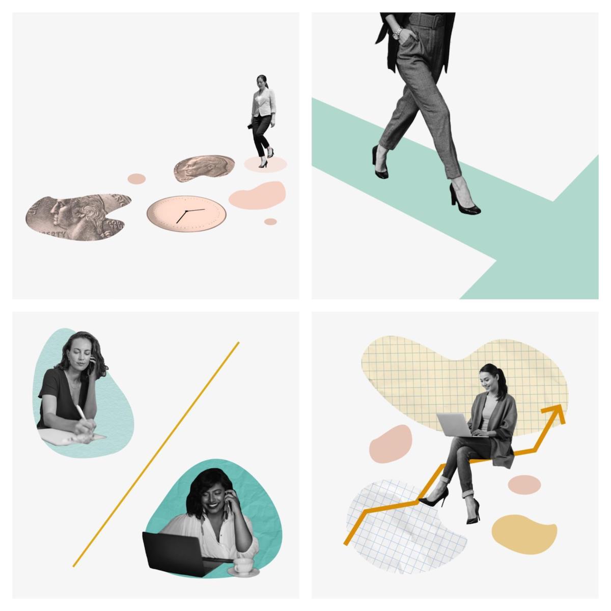 Tendencias de diseño gráfico 2020 - Paletas de colores apagados 11
