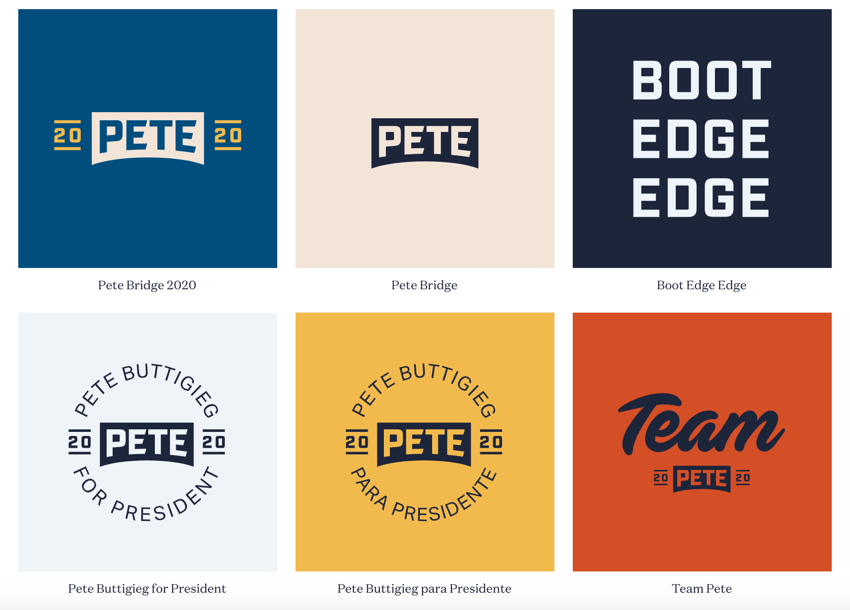 Graphic Design Trends 2020 - Muted Color Palettes 3