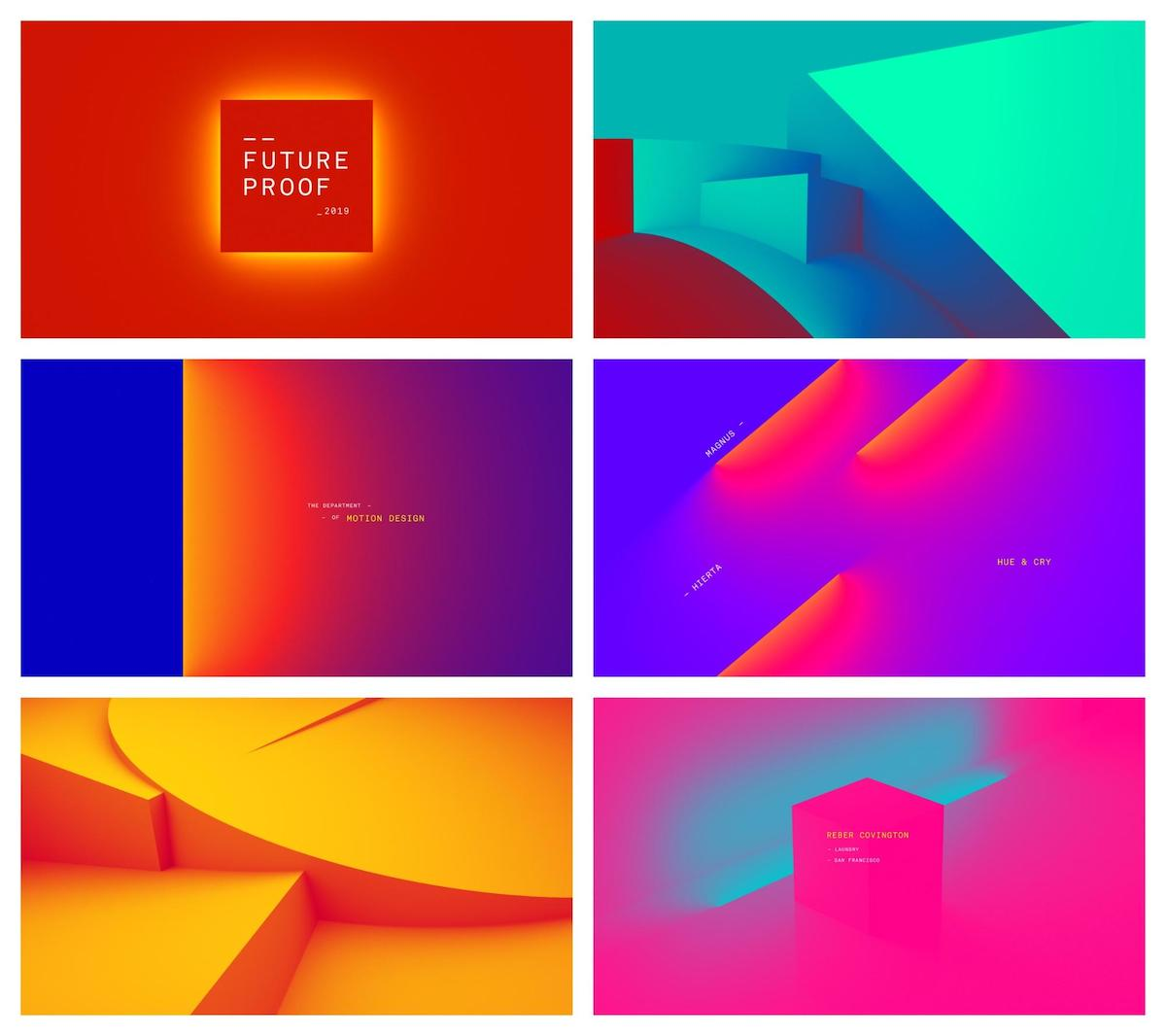 Graphic Design Trends - Complex Gradients and Duotones 8