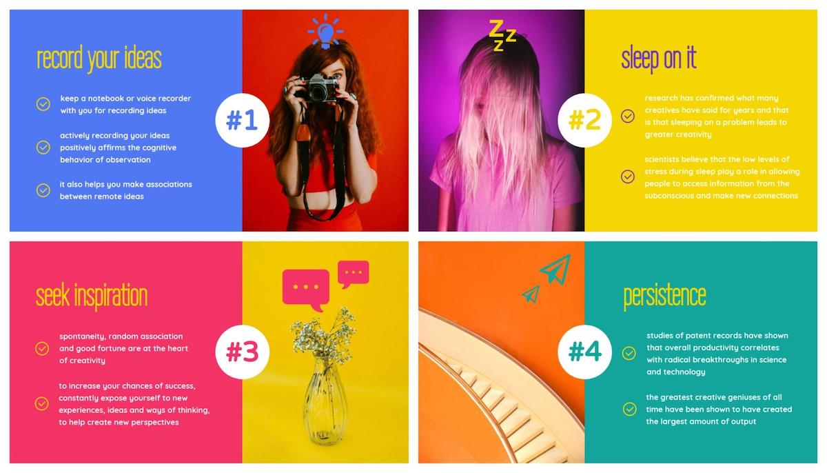 Graphic Design Trends - Pops of Vivid Colors 7
