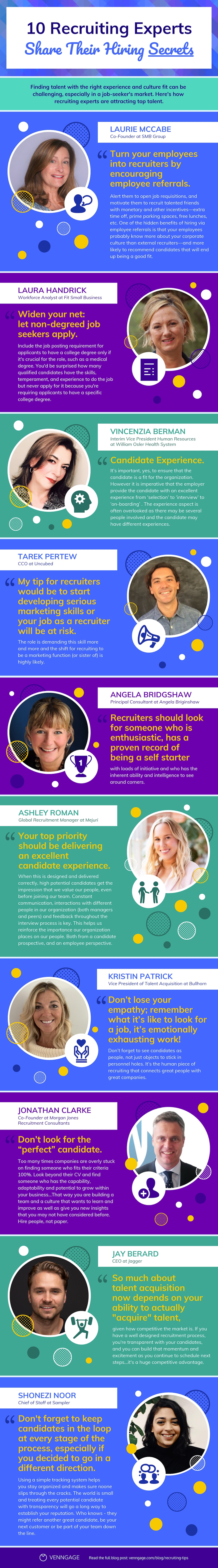 HR Influencers Quotes + Recruiting Tips