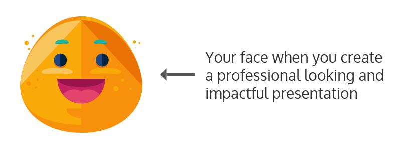 Impactful presenation templates