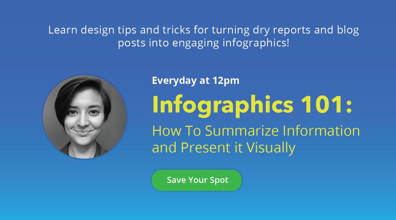 Infographics 101 Webinar