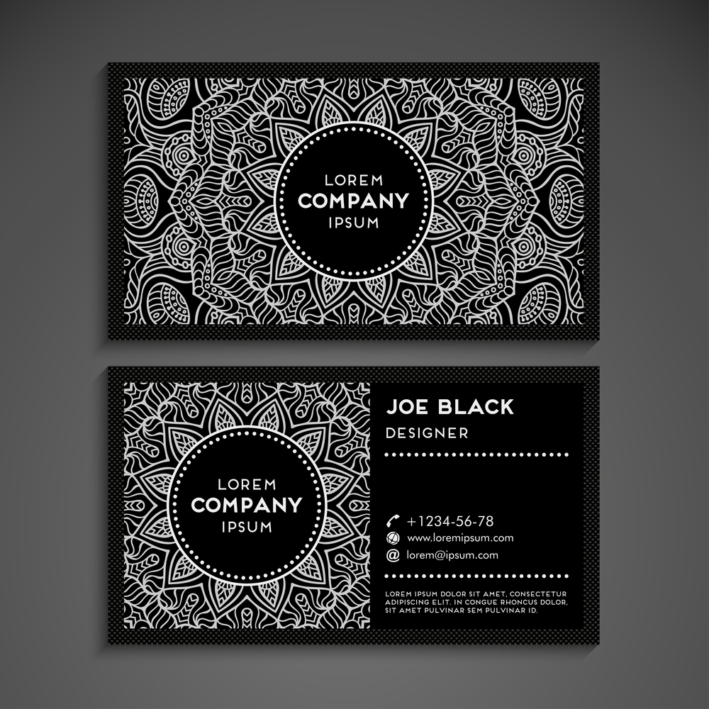 Business Card Example Design