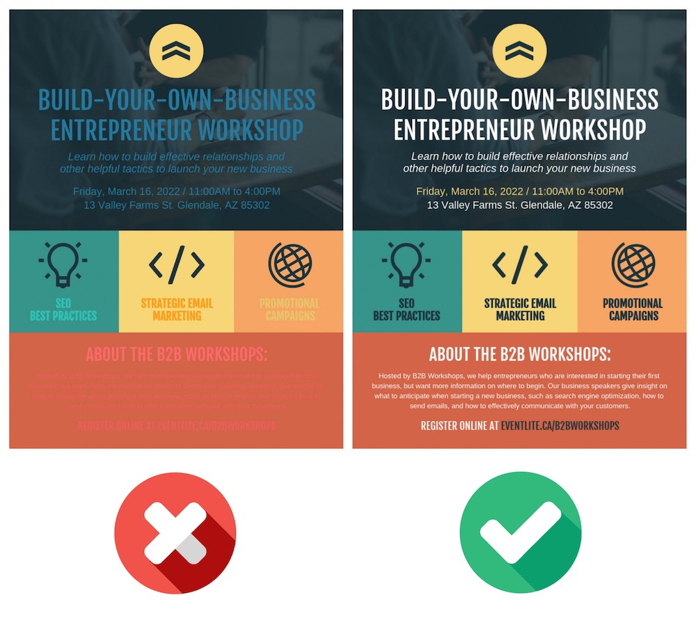 Business Entrepreneur Workshop Event Poster Design Template1