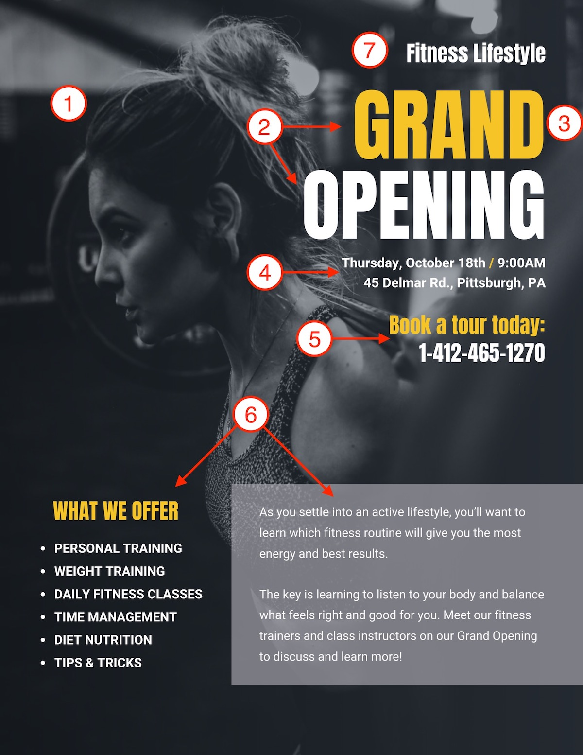 Grand Opening Event Poster Design Template1