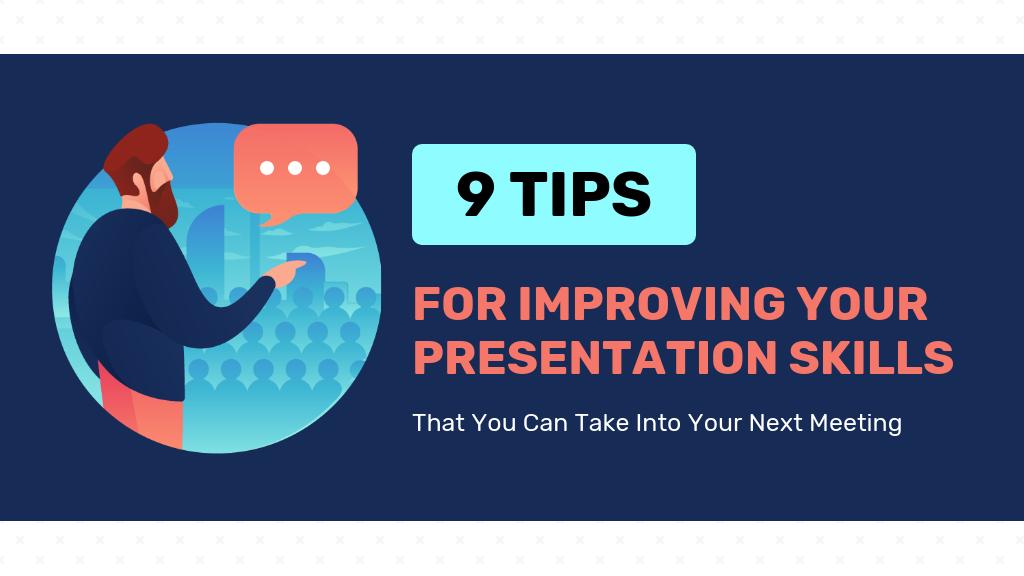 Improve Presentation Skills Blog Header