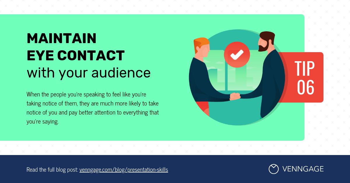 Presentation Skills Tip 6