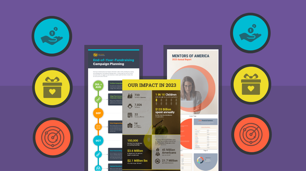 Nonprofit Infographics for Campaigns Blog Header