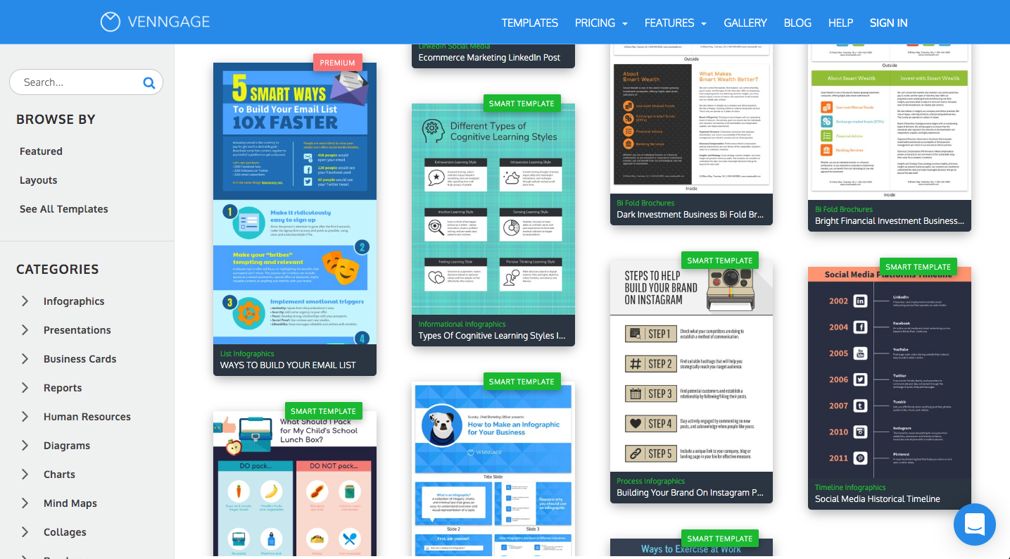 Business Templates and Smart Templates