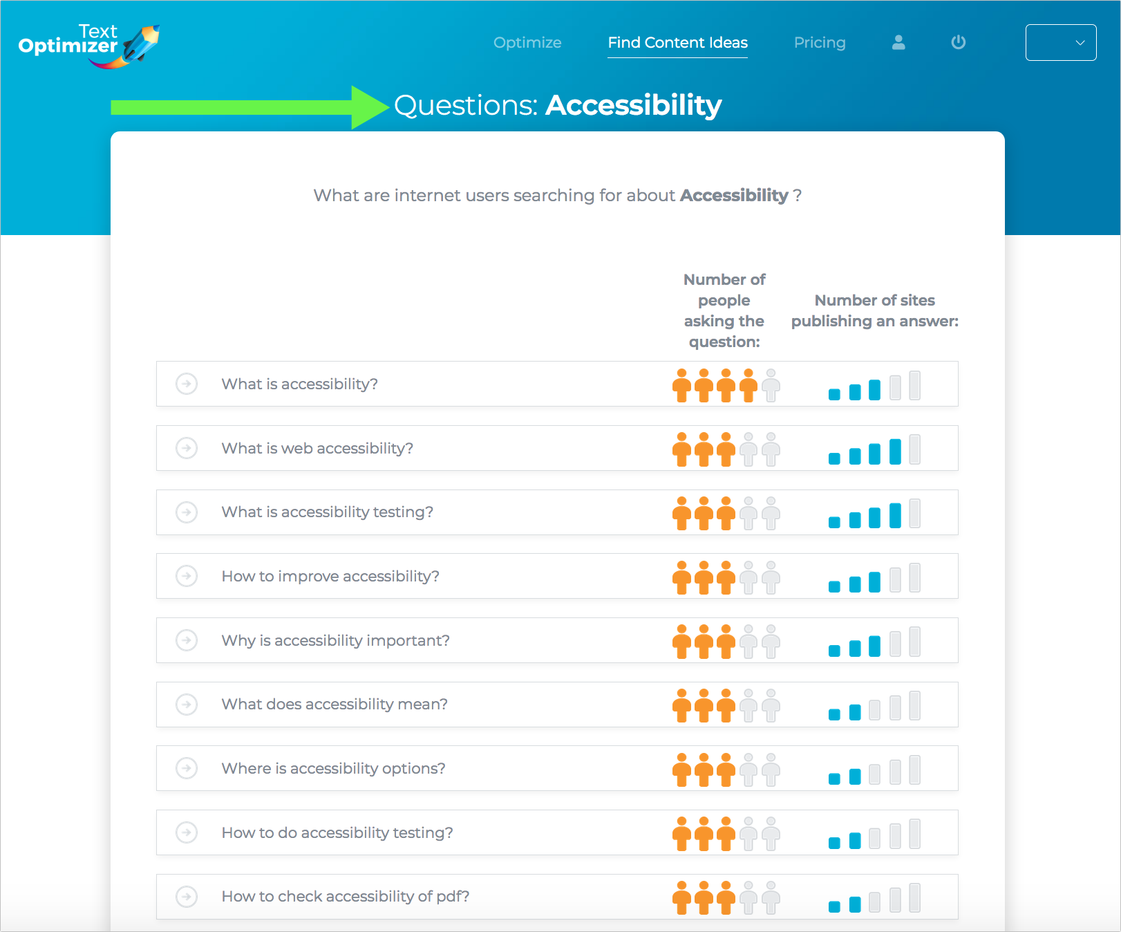 accessible infographics