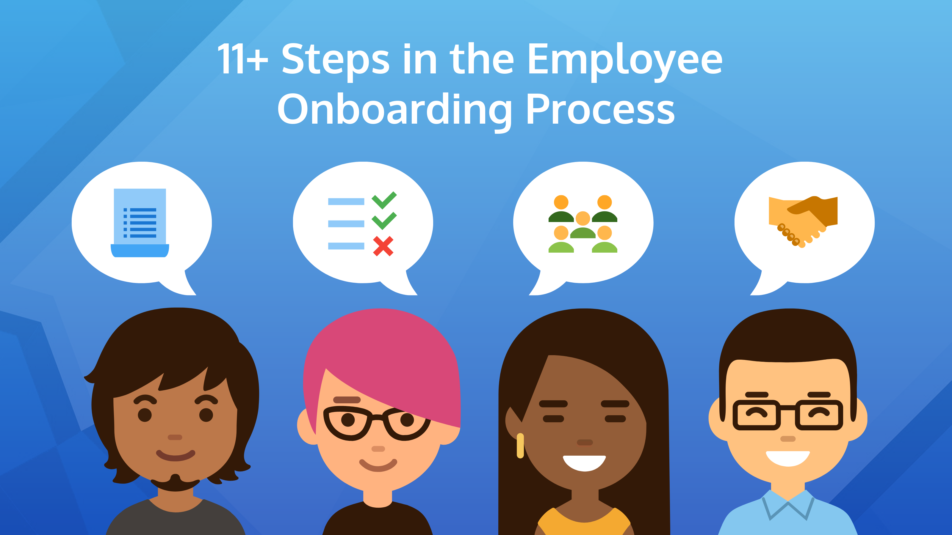 11 steps in the employee onboarding process