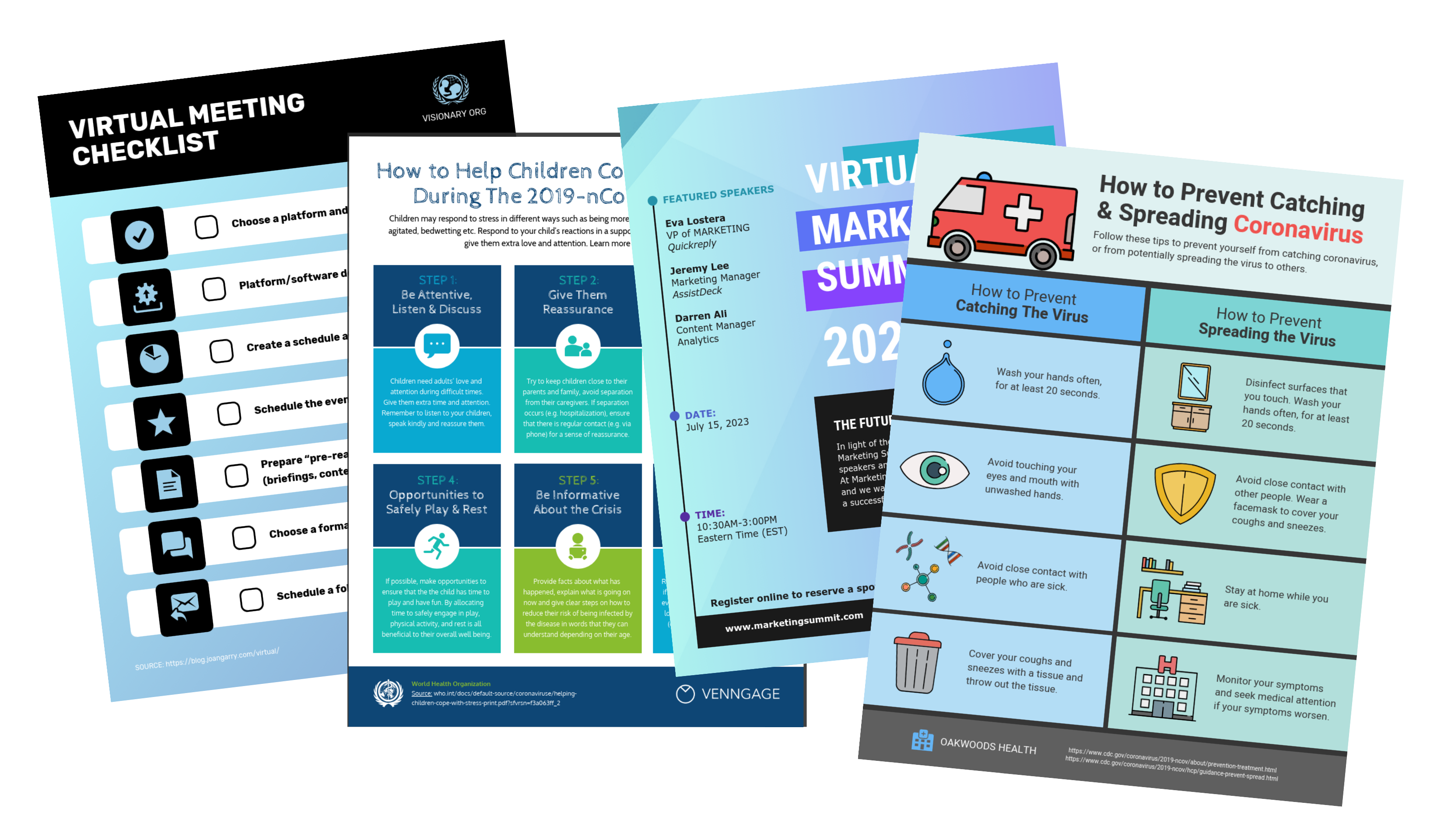 Covid 19 Templates Free Communication Resources Venngage