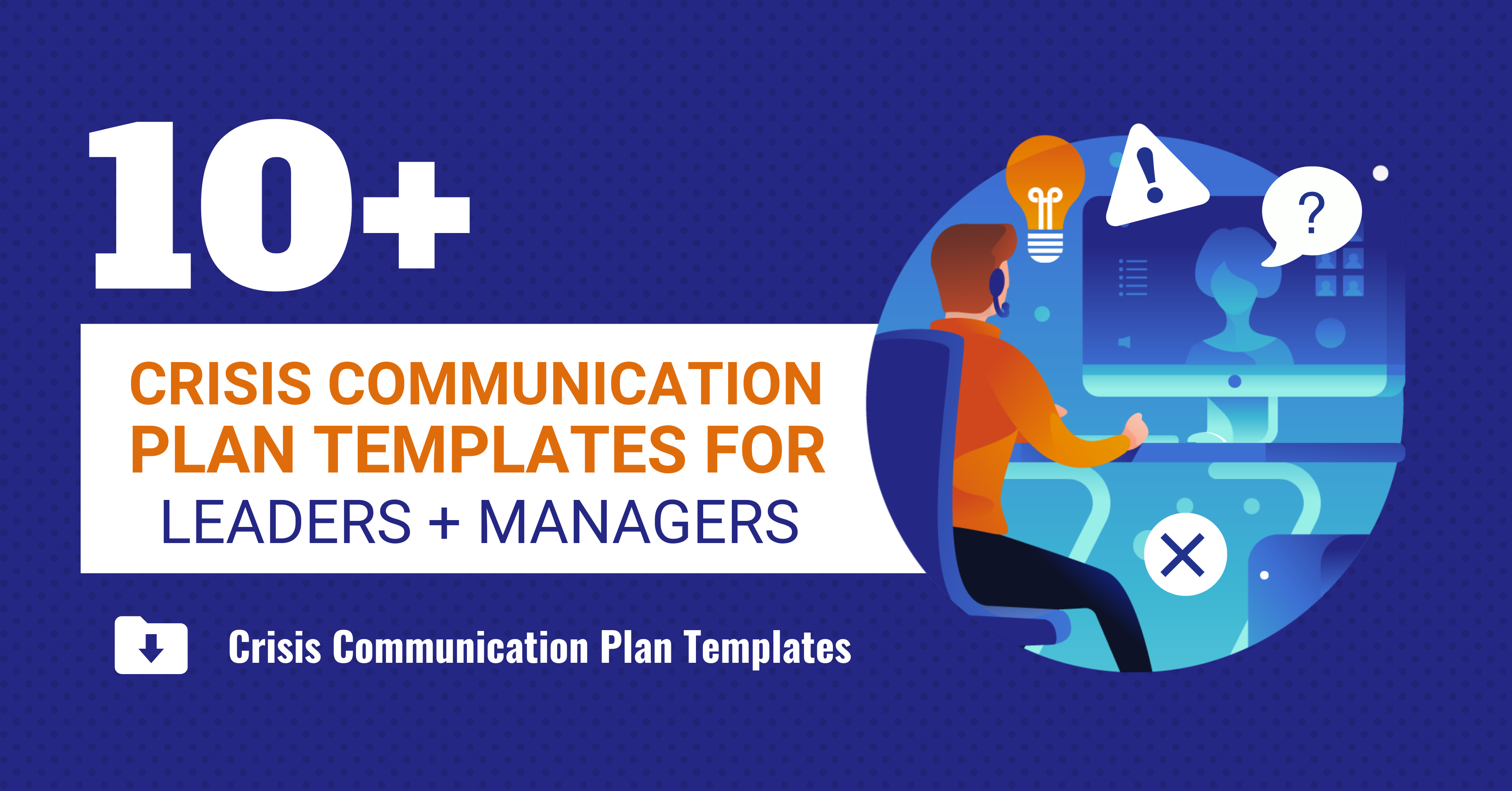 Crisis Communication Plan Header
