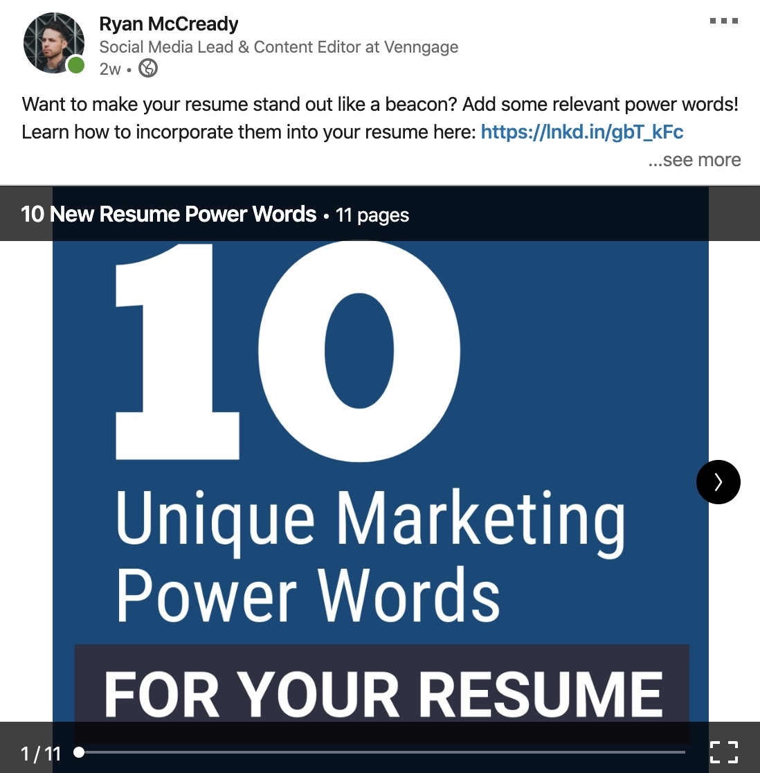 LinkedIn Presentation Templates 21