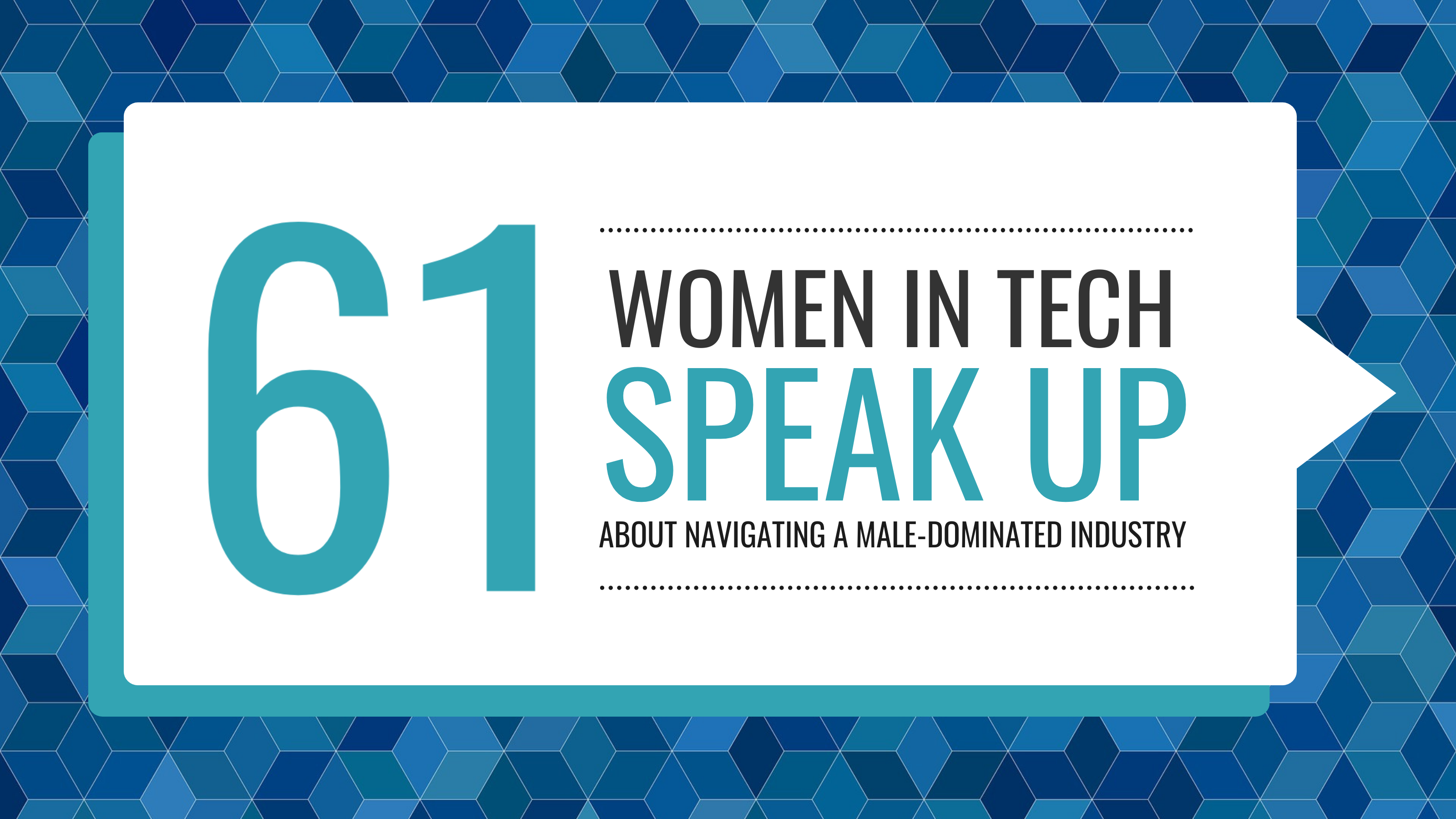 Women In Tech Blog Header