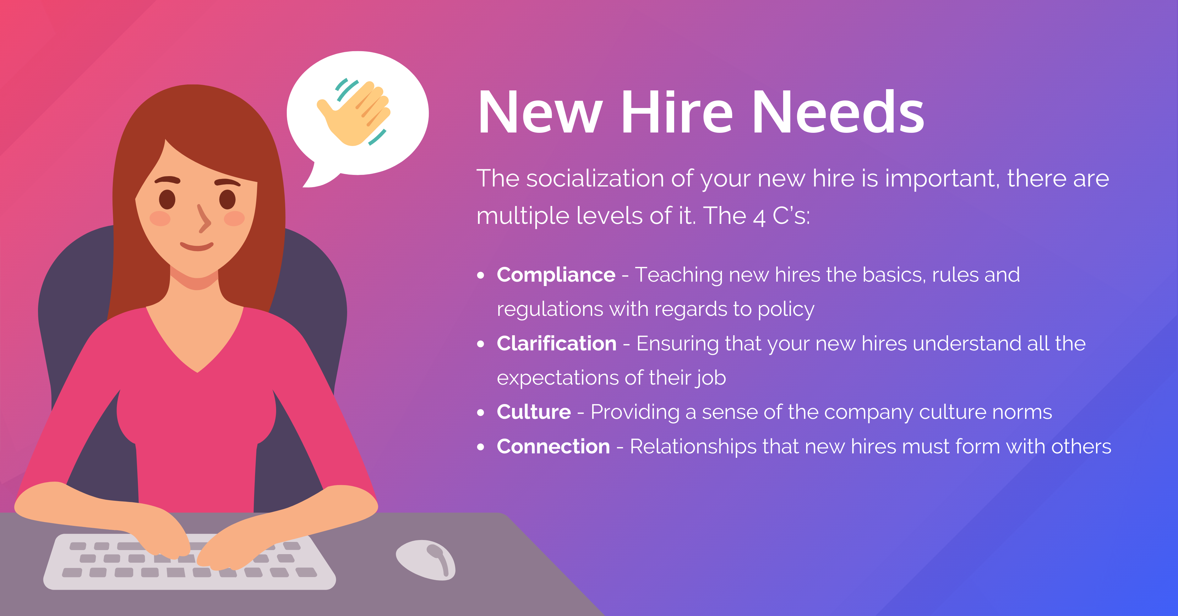 new hire needs onboarding process
