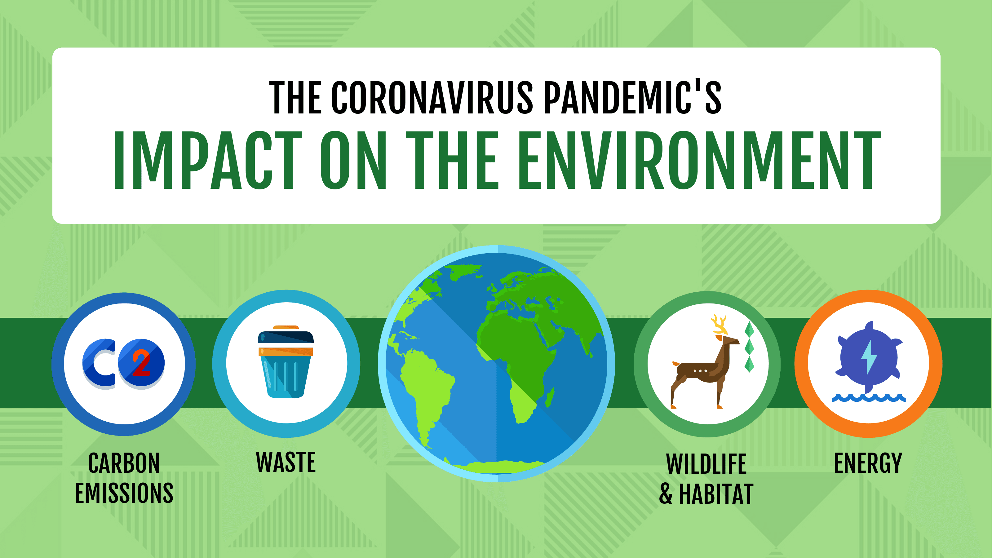 coronavirus impact on the environment blog header