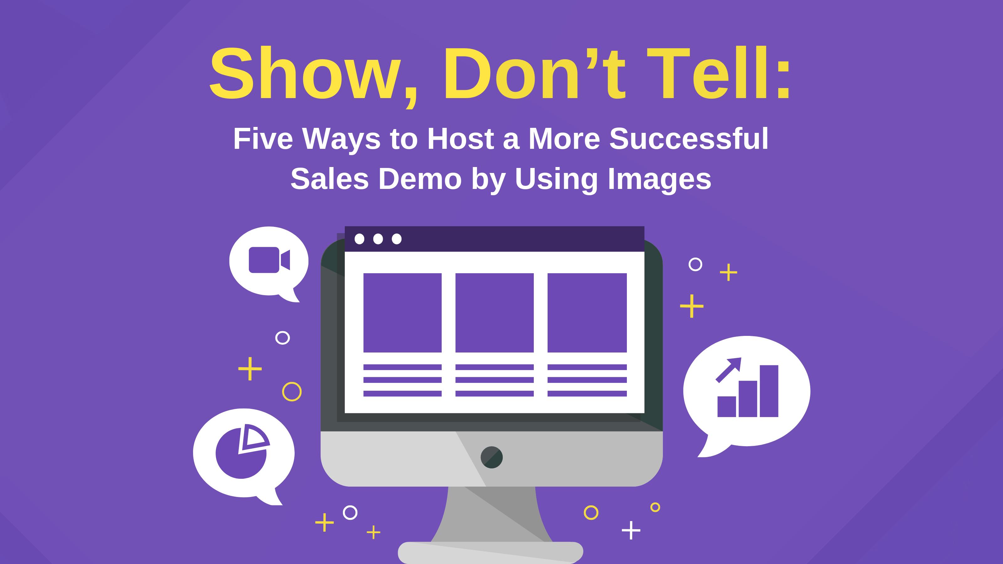 sales demo images blog header venngage