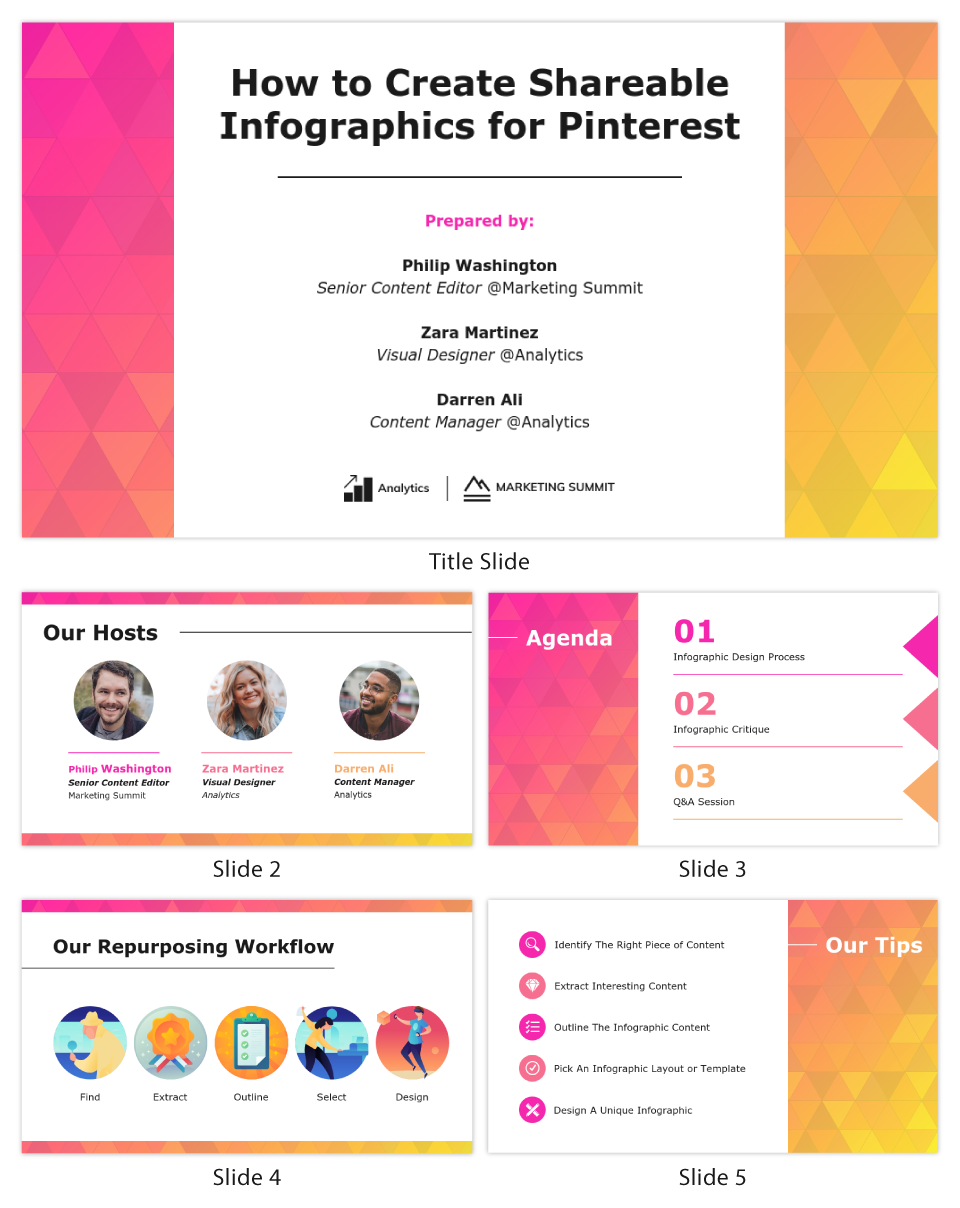 What is a webinar Shareable Infographics Pinterest Presentation Template