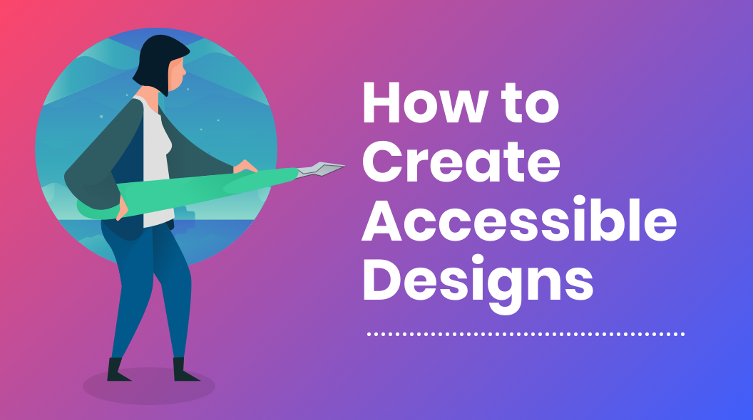 Accessible Design Header