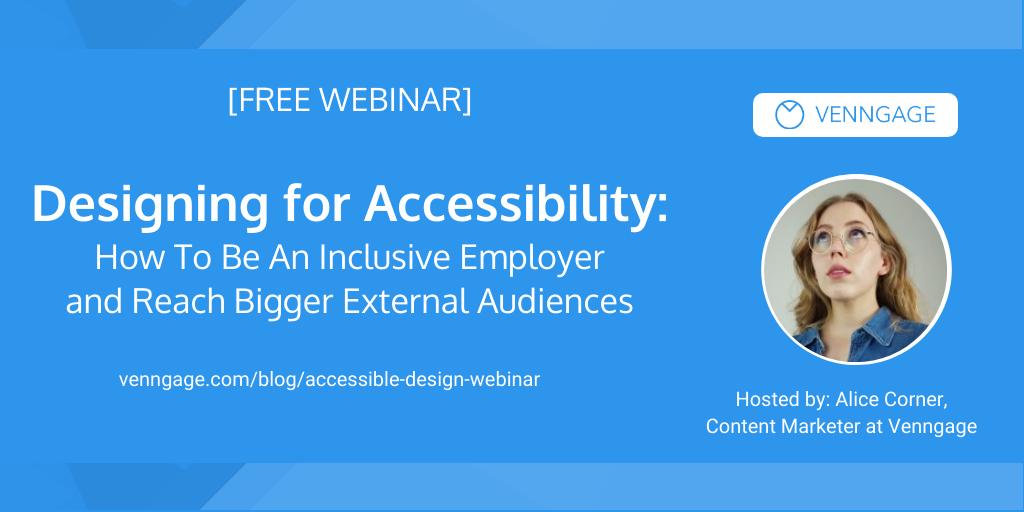 Accessible design webinar banner