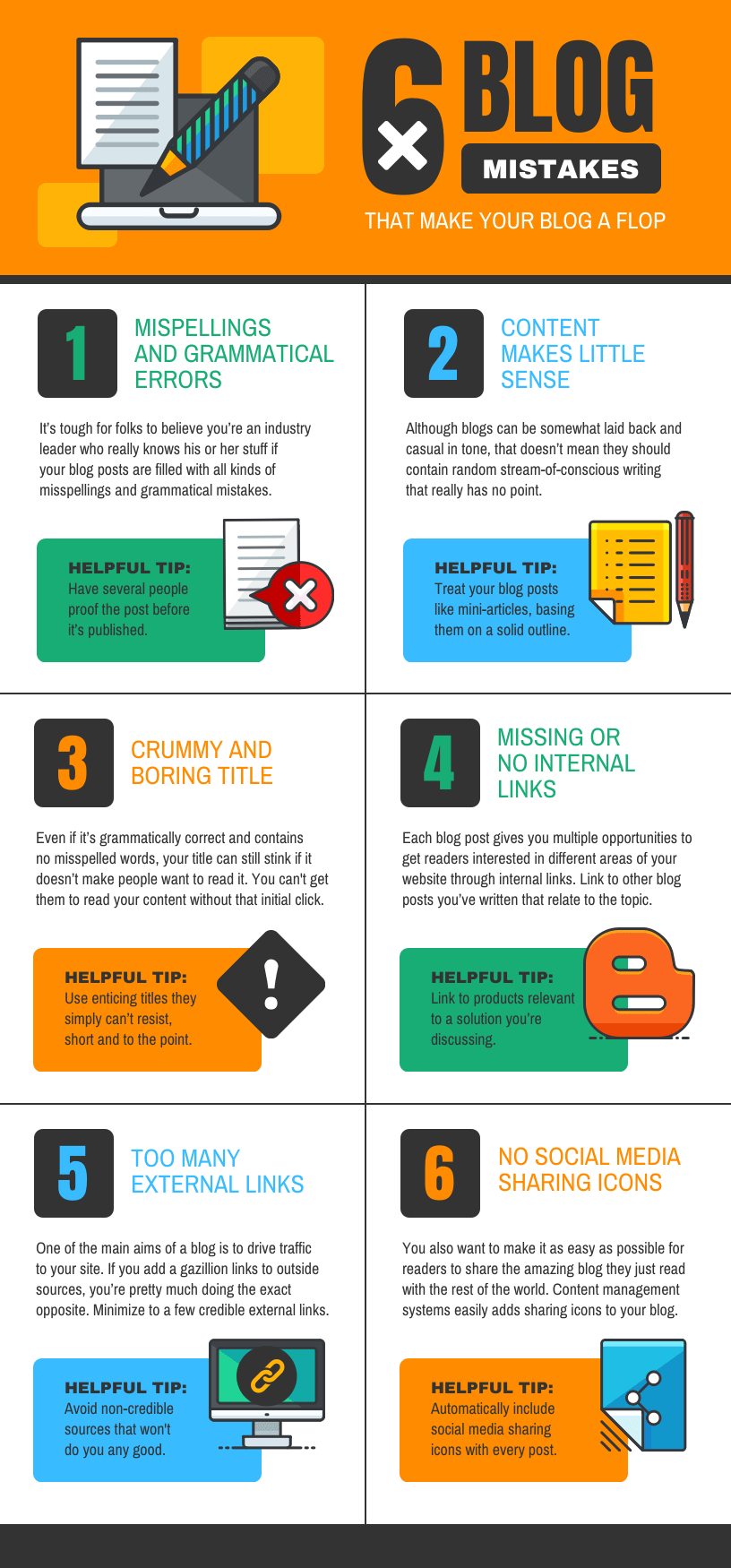Blog Infographic Template